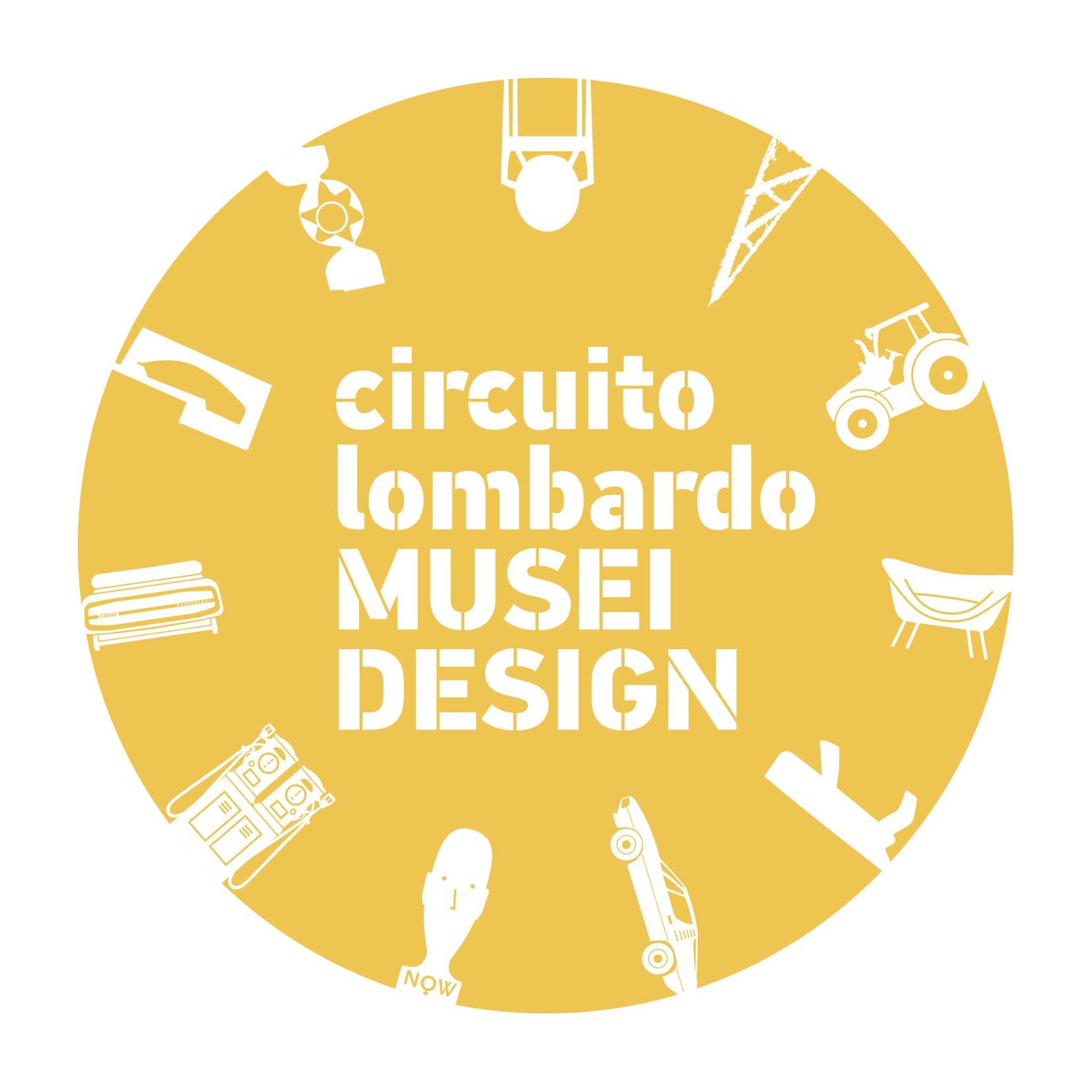 logo circuito lombardo musei del design